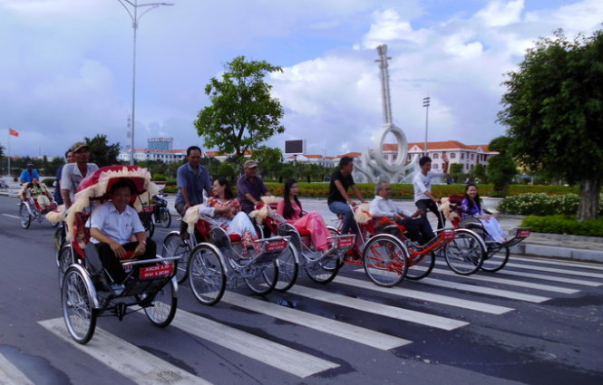 Vietnam province offers 'cyclo' service to tourists