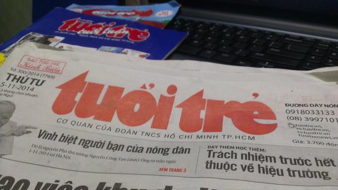 Breakfast @ Tuoi Tre News – December 9