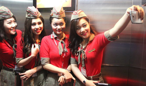 Behind the smiles of Vietnam's flight attendants