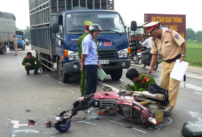 Rapid response team for traffic accidents debuts in HCMC