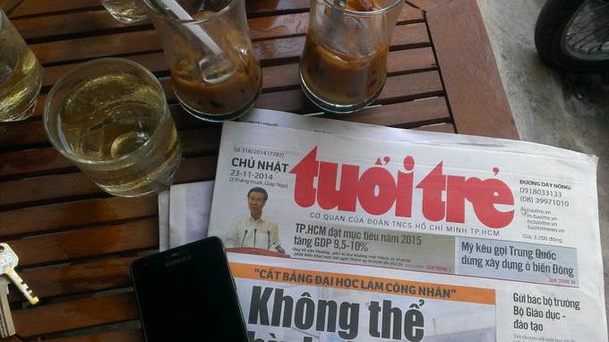 Breakfast @ Tuoi Tre News – October 30