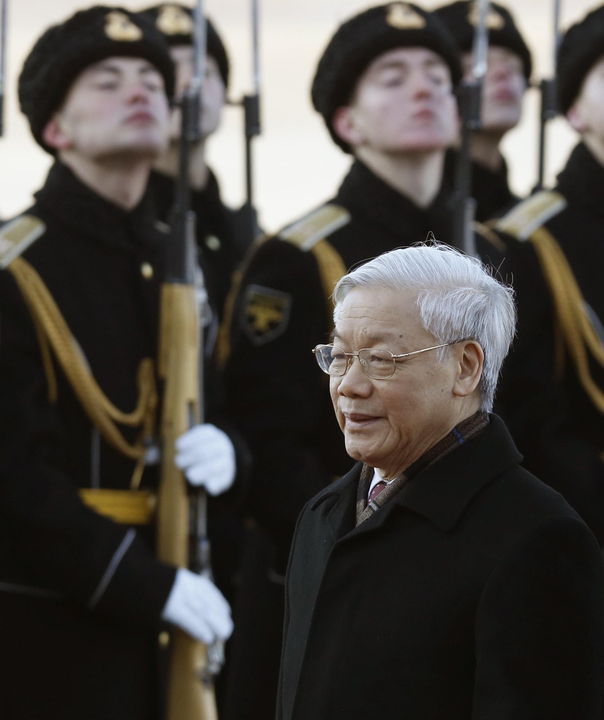 Vietnam Party head, top Russian legislators vow to deepen ties