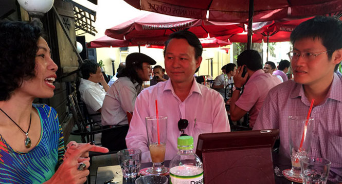 Established Vietnam entrepreneurs mentor fledgling ones