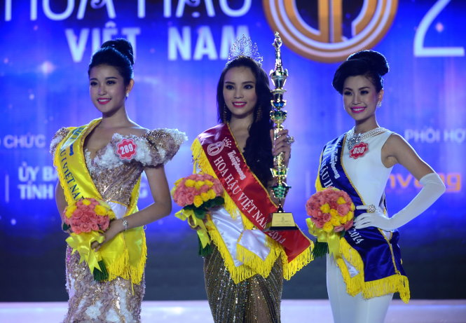 Newly crowned Miss Vietnam faces heated controversy over looks