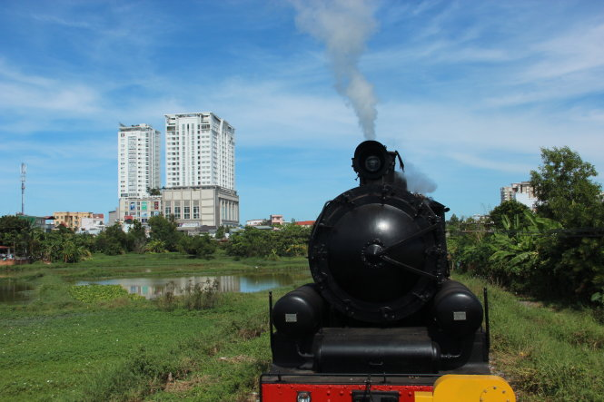 Vietnam's first 'revived' steam locomotive trial run a success