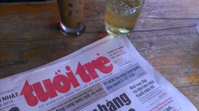 Breakfast @ Tuoi Tre News – February 14