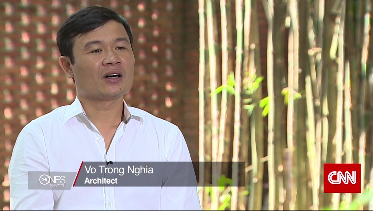 Vietnamese architect to be featured on CNN as next big name