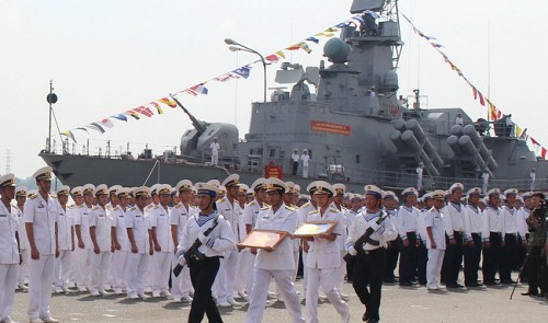 'Fists' should be prepared for sovereignty protection: Vietnam rear admiral