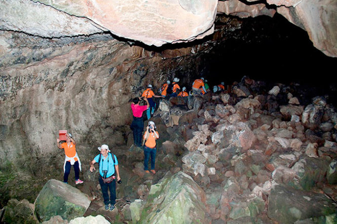 Exploring Vietnam's first-ever volcanic cave system, including SE Asia's longest grotto
