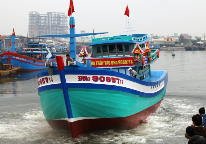 Vietnam launches new ship to replace boat sunk by Chinese vessel