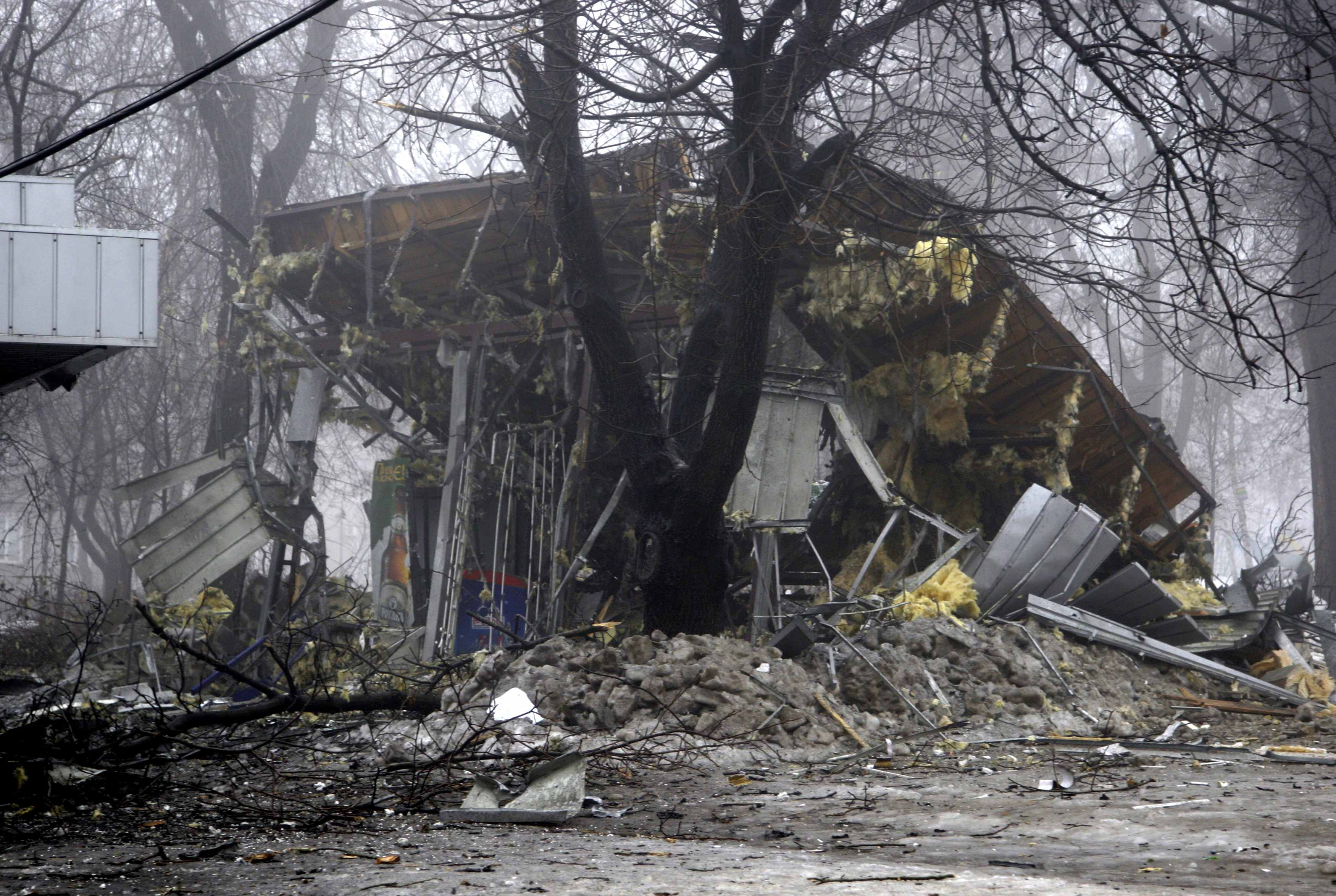 At least 6 civilians killed in shelling attack in Donetsk, east Ukraine: Reuters witness