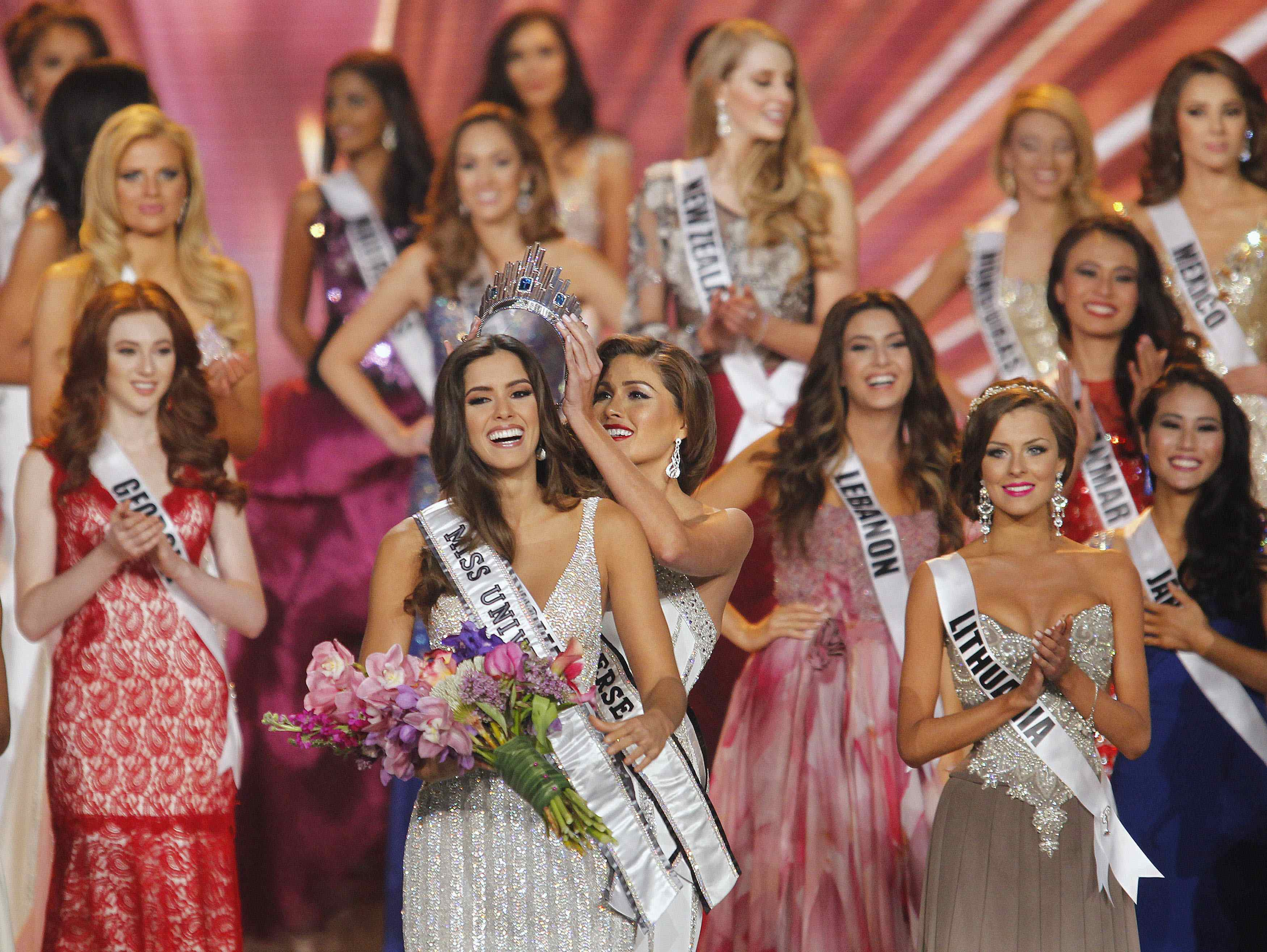 Miss Colombia crowned 2014 Miss Universe