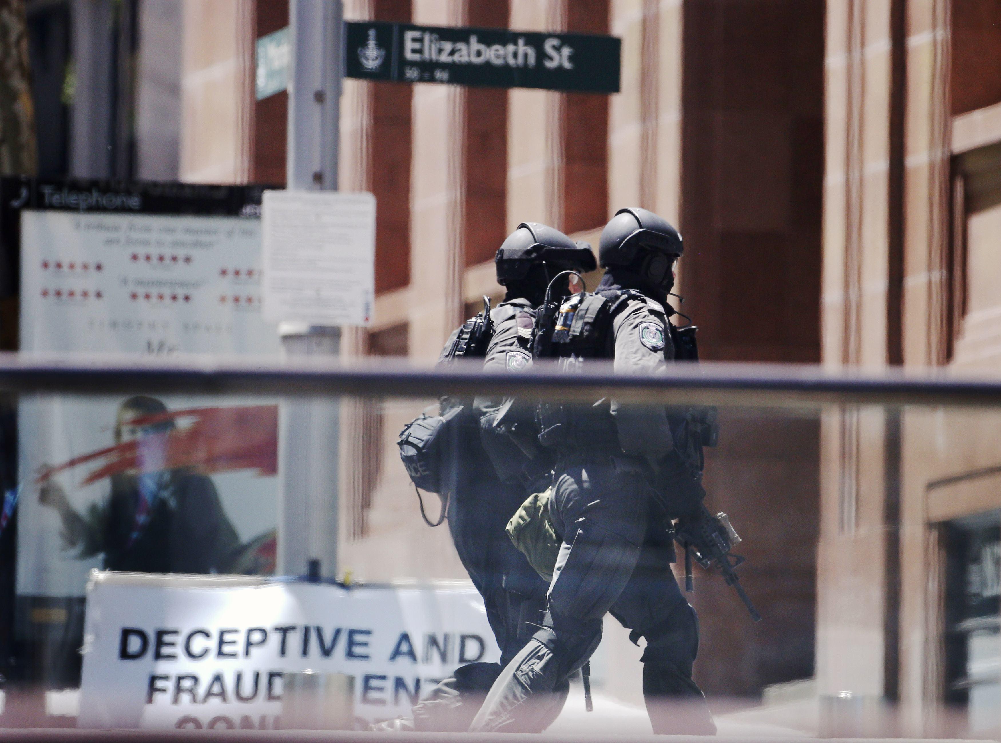 Hostage in Sydney siege
