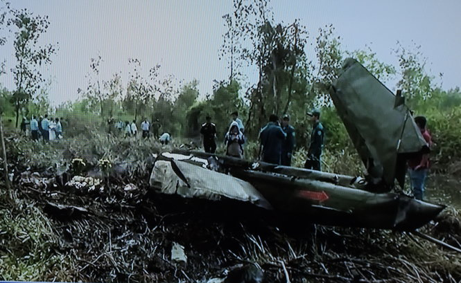 Pilot of crashed Vietnam chopper tried to avoid residential area: media