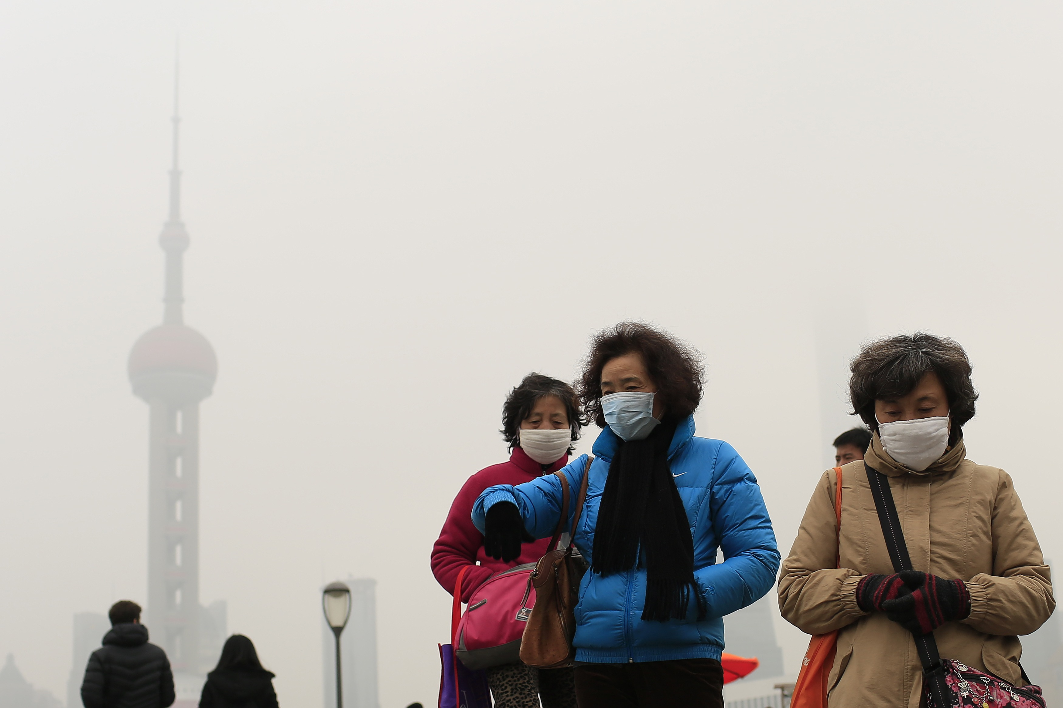 China says 90 pct of cities failed to meet air standards in 2014