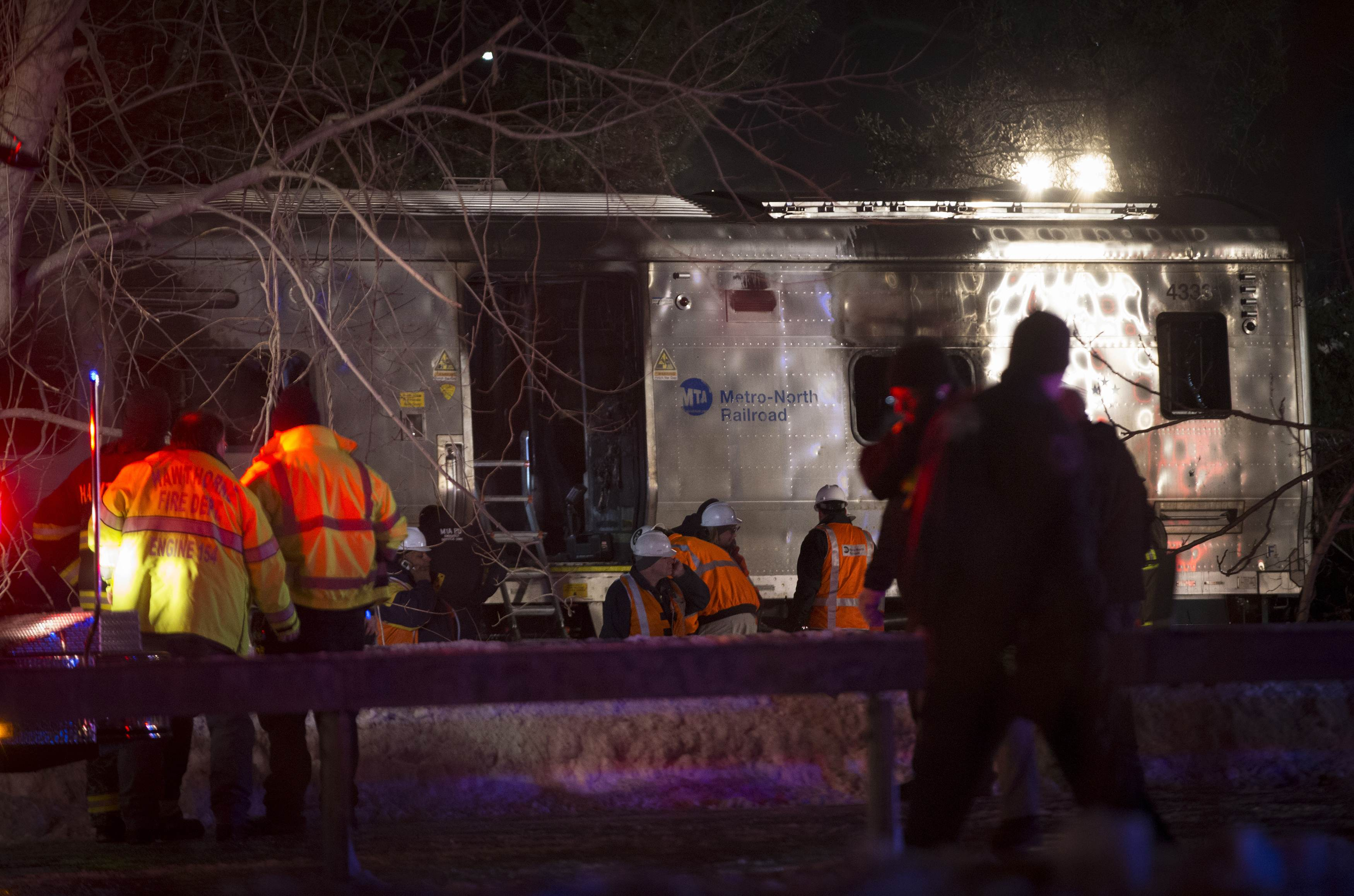 At least seven dead as commuter train hits car near New York City: reports