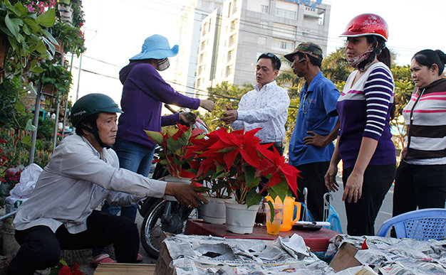 Ho Chi Minh City flower markets ready for Lunar New Year