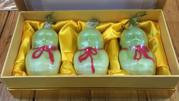 In Vietnam, bizarre fruits sought after as Lunar New Year presents