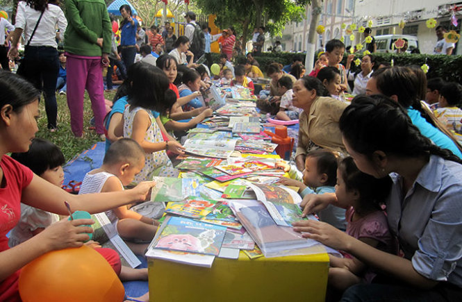 Resumed library project alleviates pain for Vietnamese child patients