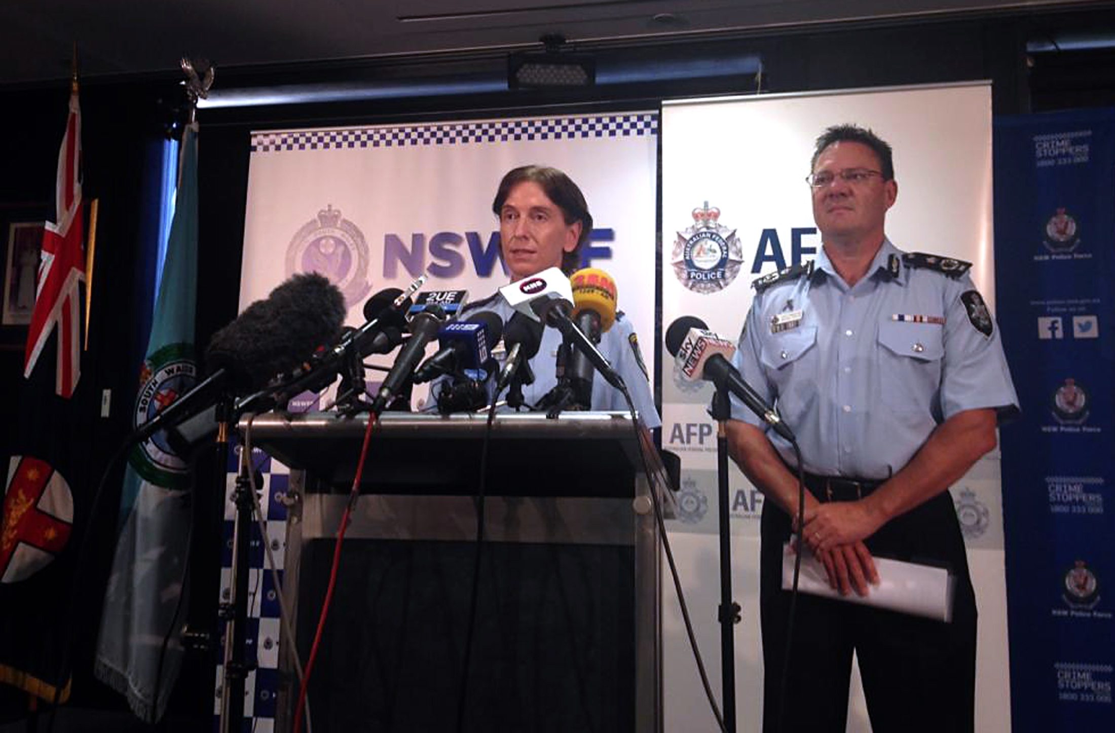 Australian anti-terror police say imminent IS-linked attack thwarted
