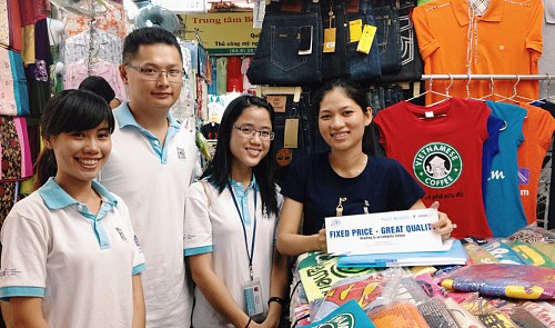 Young Vietnamese run project to end rip-off in Ho Chi Minh City