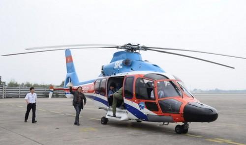 Central Vietnam city to launch chopper tourism service
