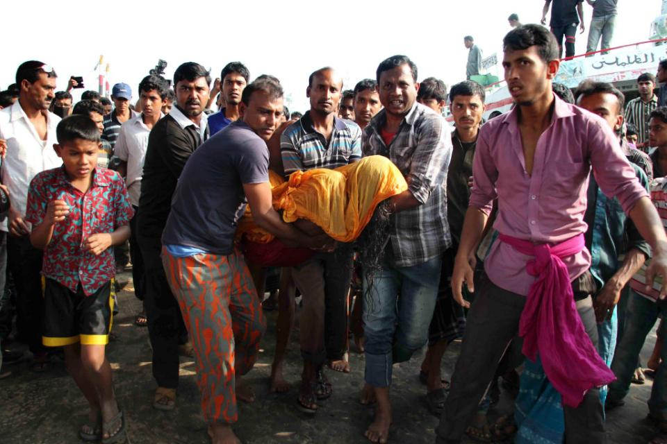 Bangladesh ferry capsizes after collision, at least 66 dead