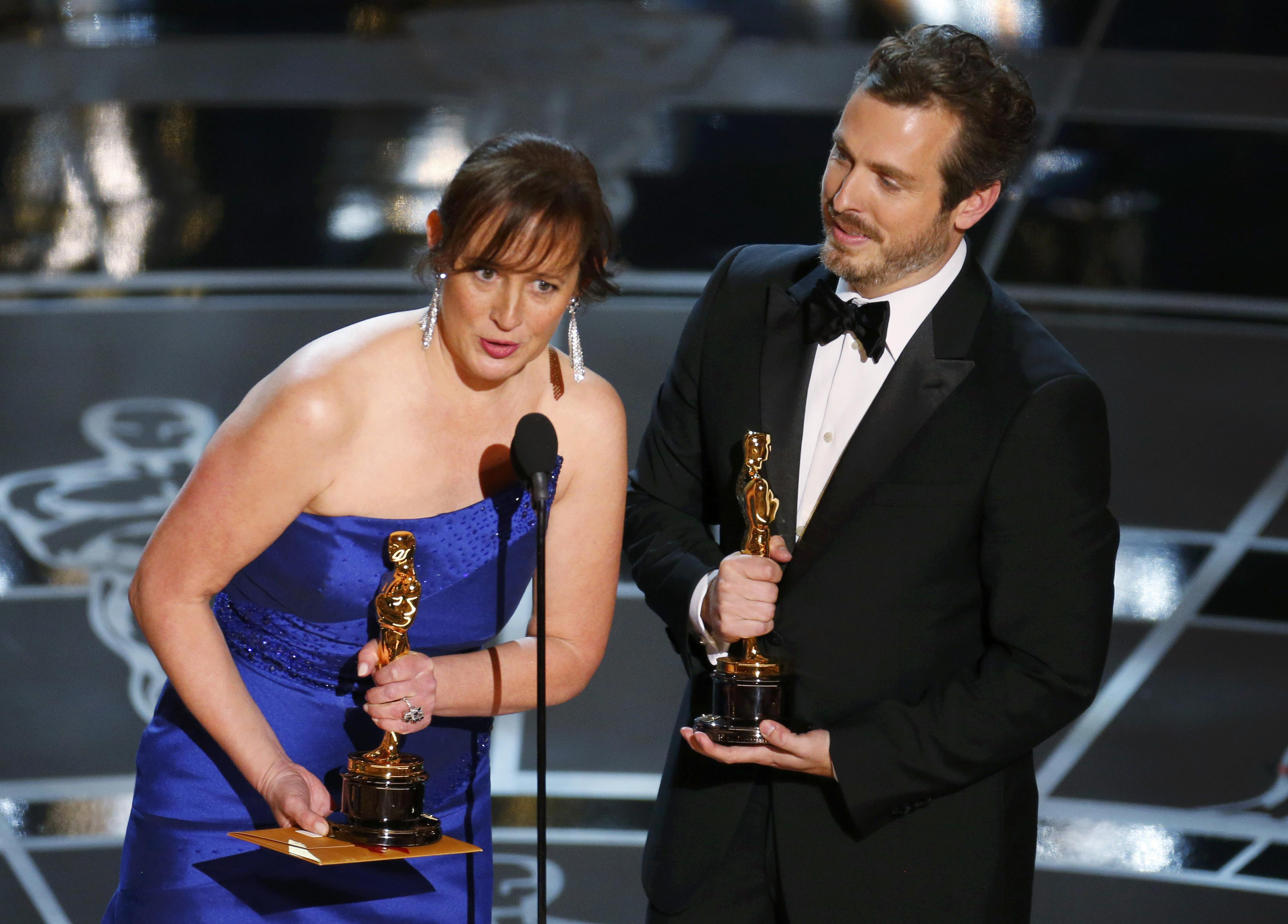 Oscars honor veteran supporting actors, Poland's 'Ida'