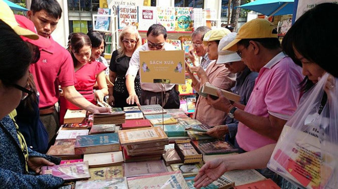 Ho Chi Minh City book street produces $209k in revenue