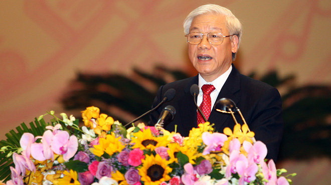 Vietnam party chief to visit US in 2015, ministry confirms