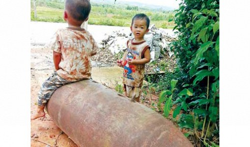 US to provide $8mn for UXO removal in central Vietnam