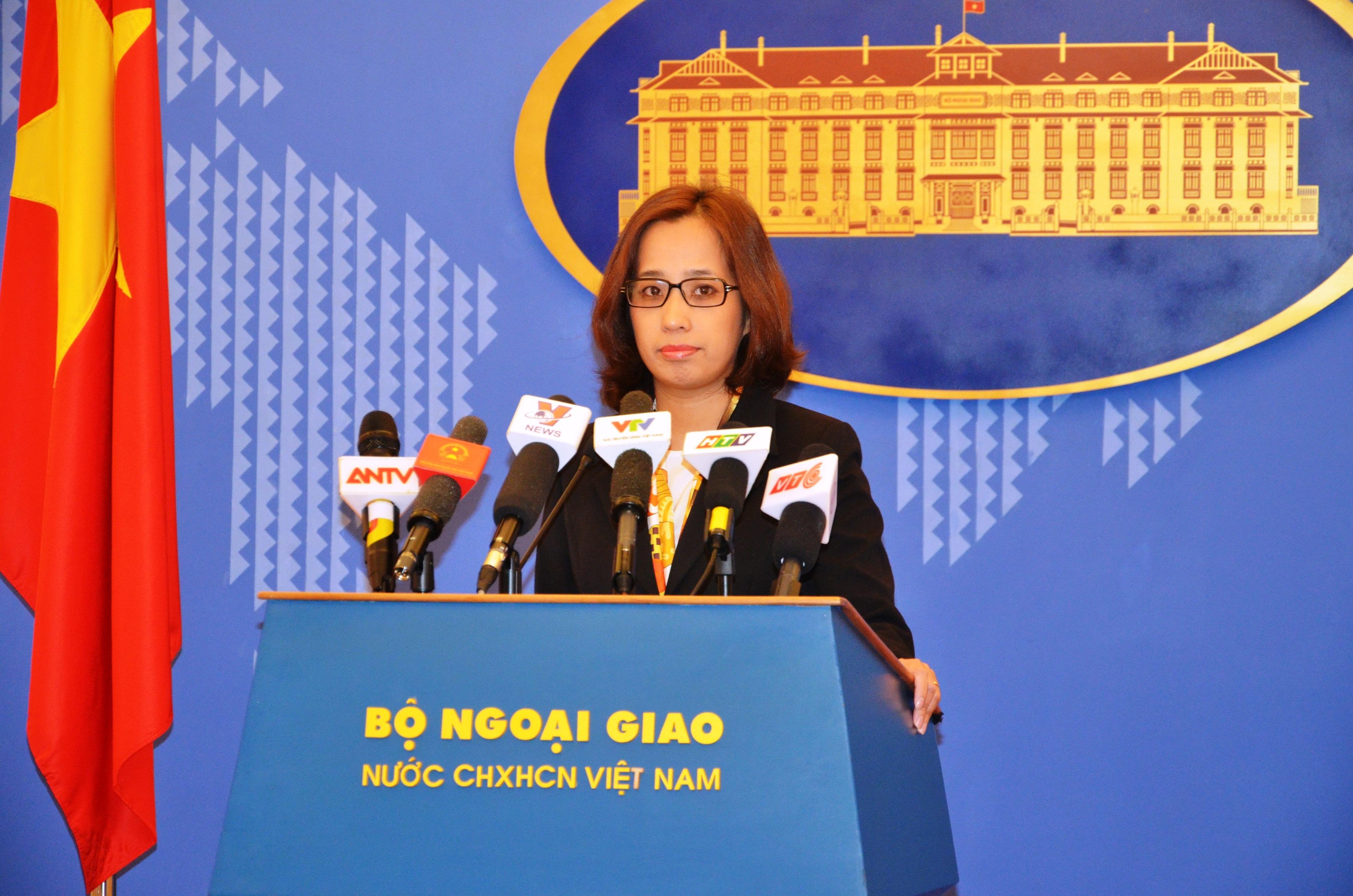 Vietnam demands China stop illegitimate construction in Truong Sa