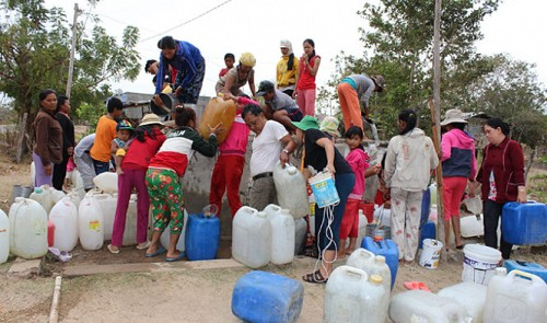Vietnam provinces suffer from severe drought
