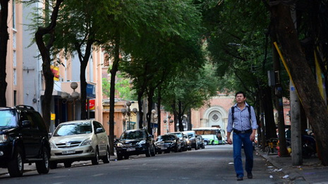 A book street for Ho Chi Minh City, why not?