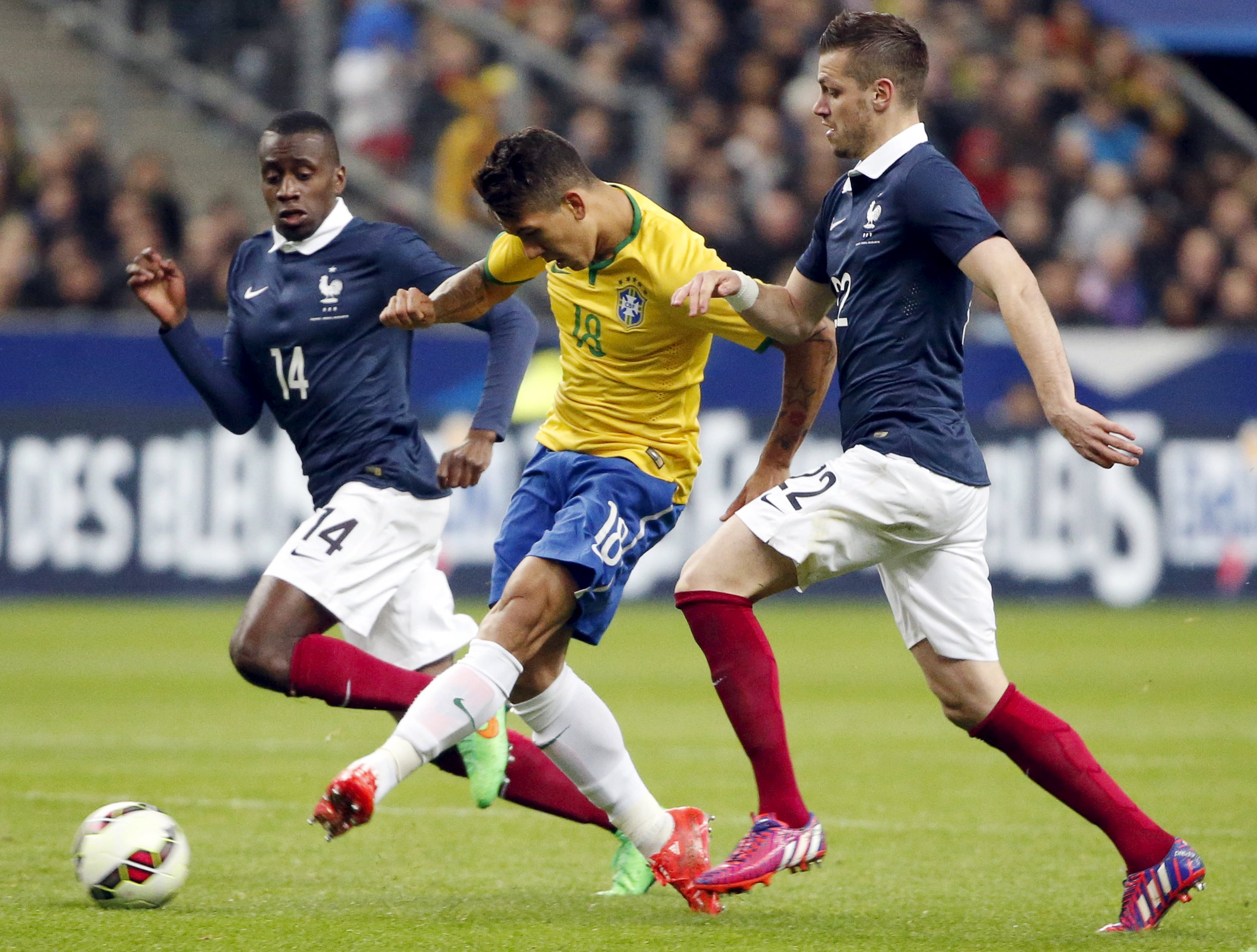 Brazil finding right balance in France win, says Dunga