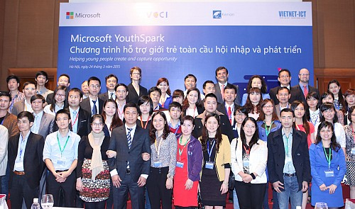 Microsoft announces $3mn YouthSpark investment in Vietnam
