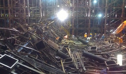 Korean manager ordered fleeing Vietnamese workers to return before scaffold collapse: witnesses