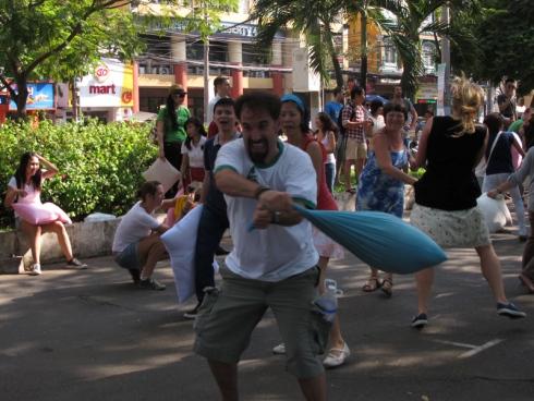 Ho Chi Minh City to host International Pillow Fight Day tomorrow