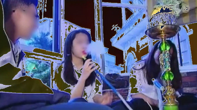 Vietnam TV station apologizes for broadcast allegedly staged to show students smoking shisha