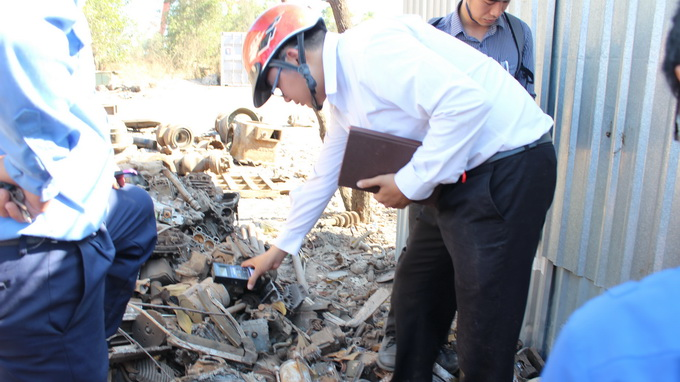 Painstaking search for long-lost hazardous radioactive source ongoing in southern Vietnam
