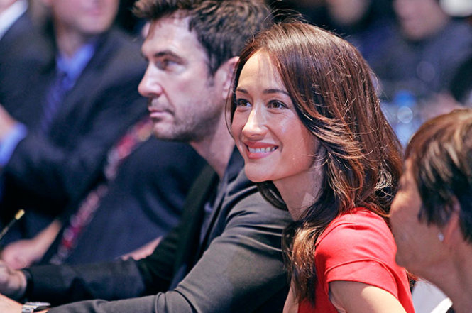 Maggie Q says Vietnam can help save rhinos