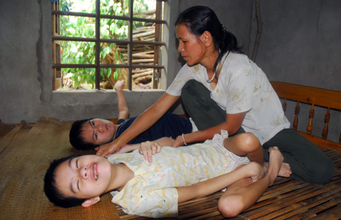 Documentary film on Vietnam's Agent Orange victims screened in France