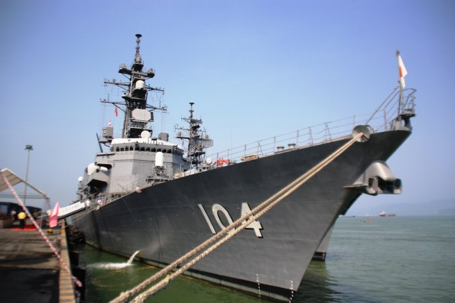 Japan self-defense ships to have joint training with Vietnam side