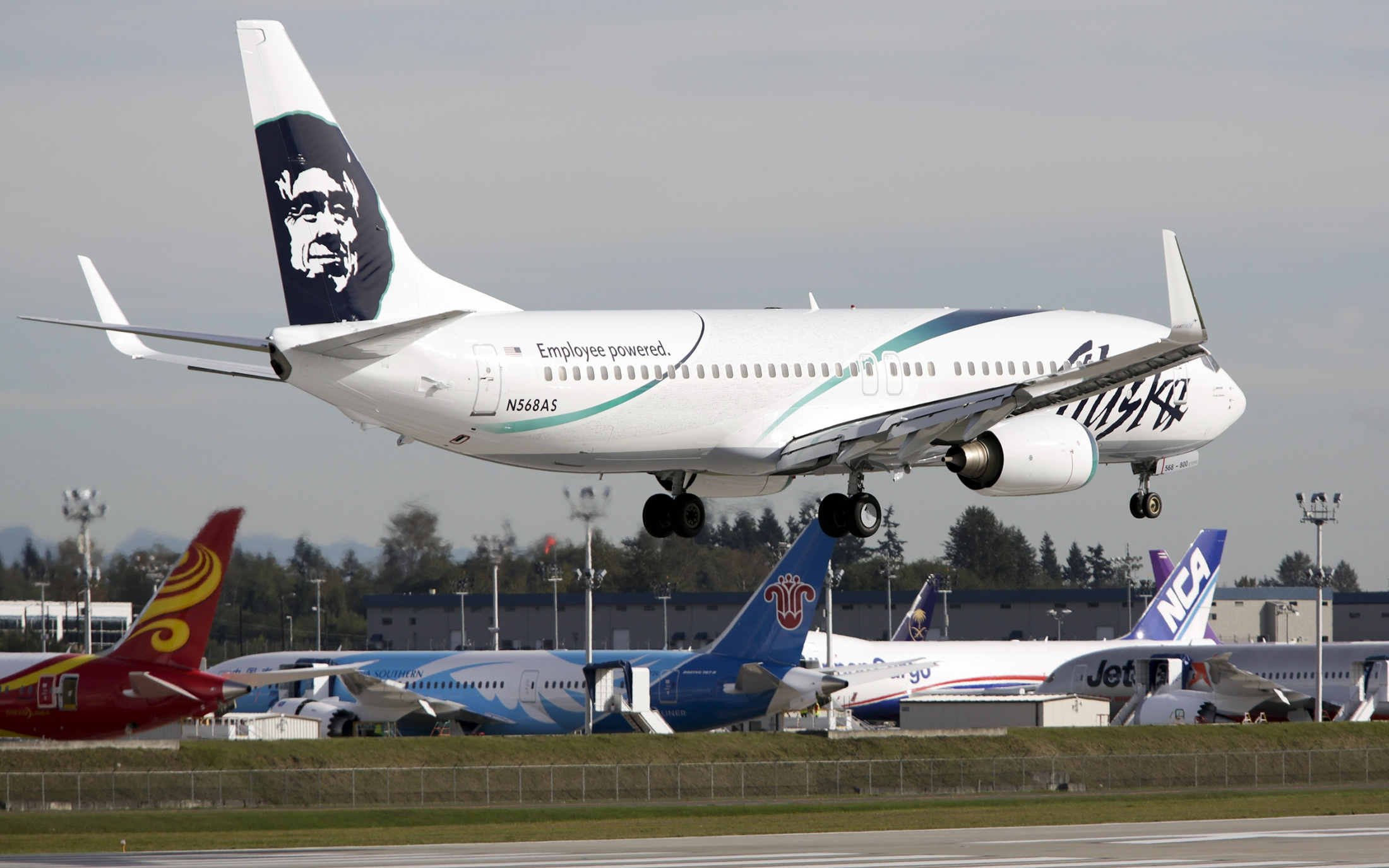 Alaska Airlines bans baggage worker who got trapped in cargo hold