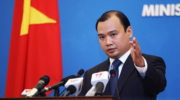 Vietnam opposes China's construction work in Truong Sa (Spratlys)