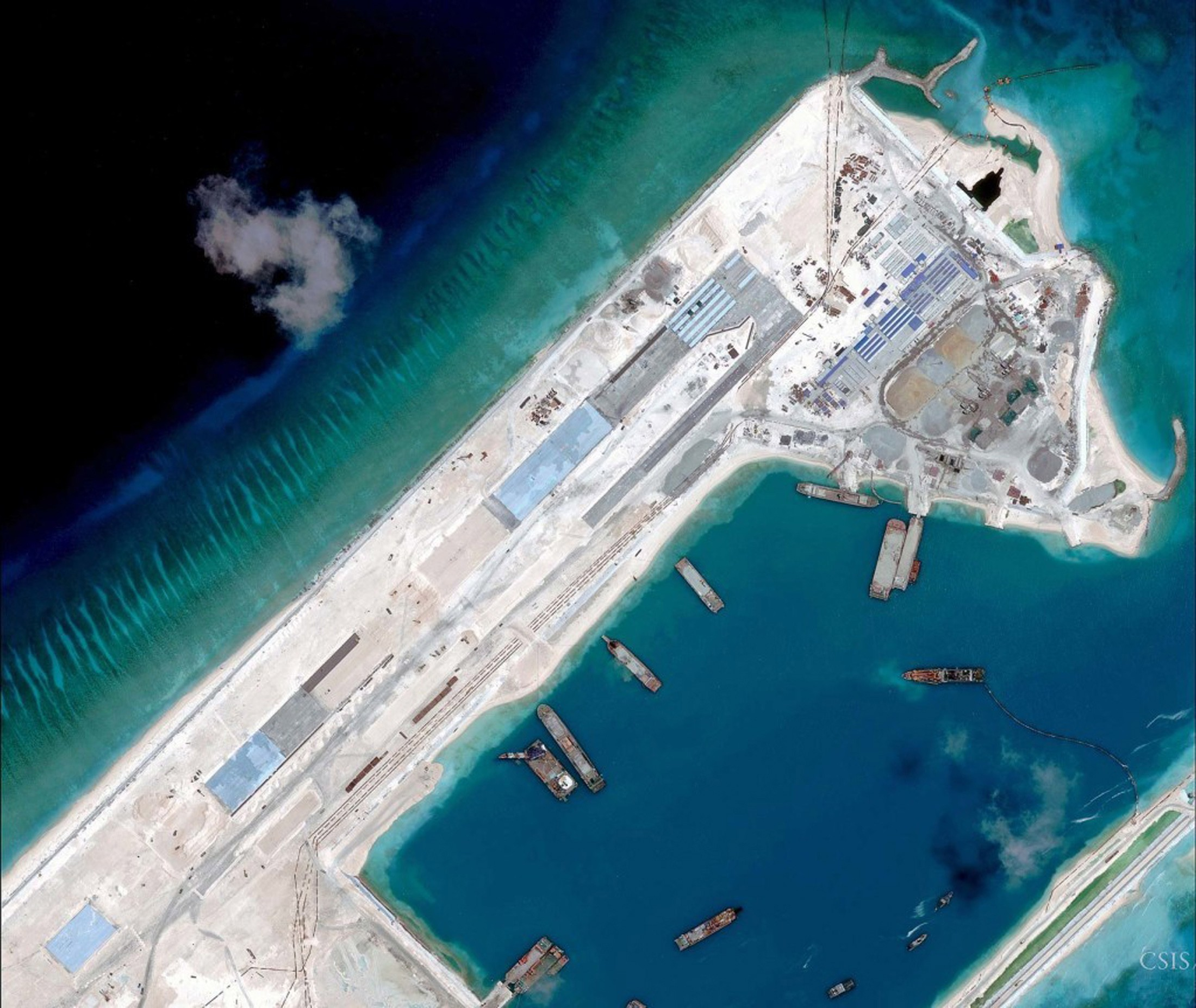 China building third airstrip on disputed East Vietnam Sea islets: expert