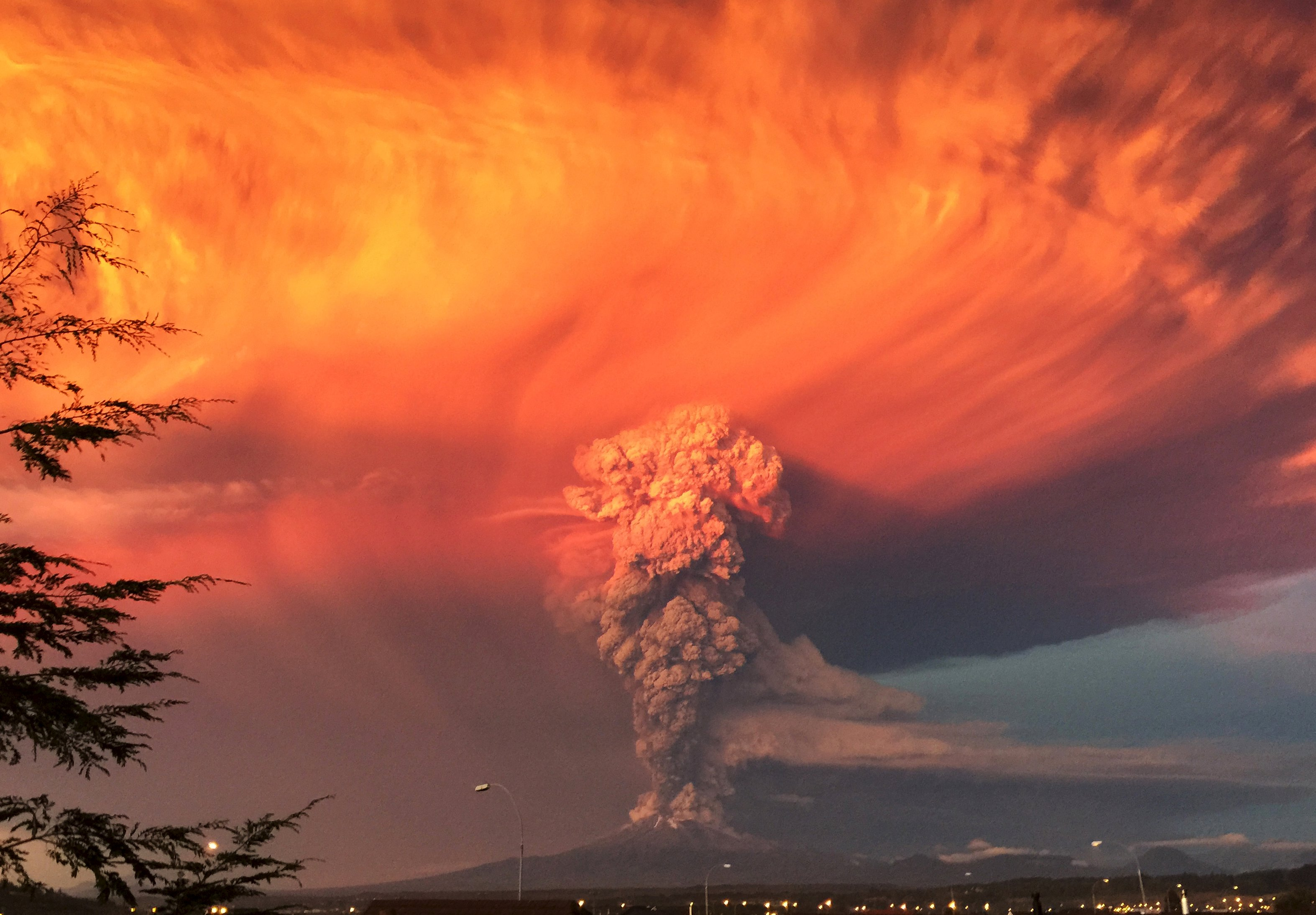 Volcano erupts in southern Chile, belching ash, smoke into sky