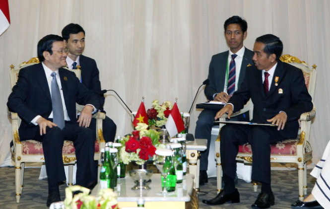Vietnam, Indonesia emphasize importance of peace, freedom of navigation in East Sea