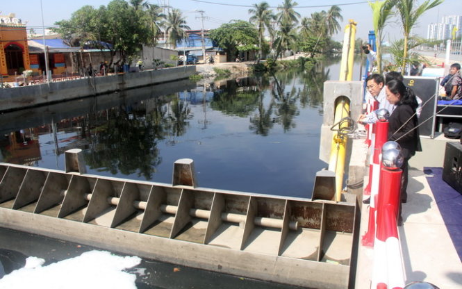 $27.56mn anti-flooding works benefit 42,000 people in Ho Chi Minh City