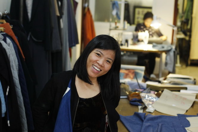 Vietnamese woman keen on promoting eco-friendly fashion in Europe